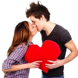 2 любящих сердца